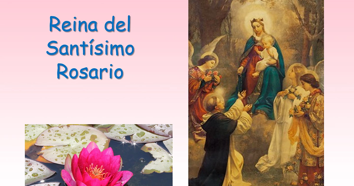 Reina del Santísimo Rosario