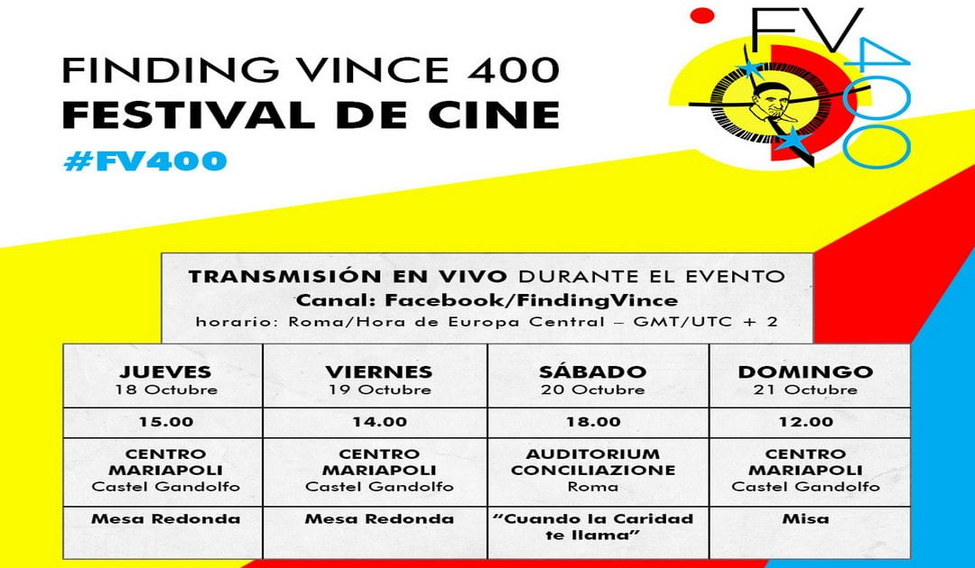 """Finding Vince 400"" se difundirá en streaming por Facebook"