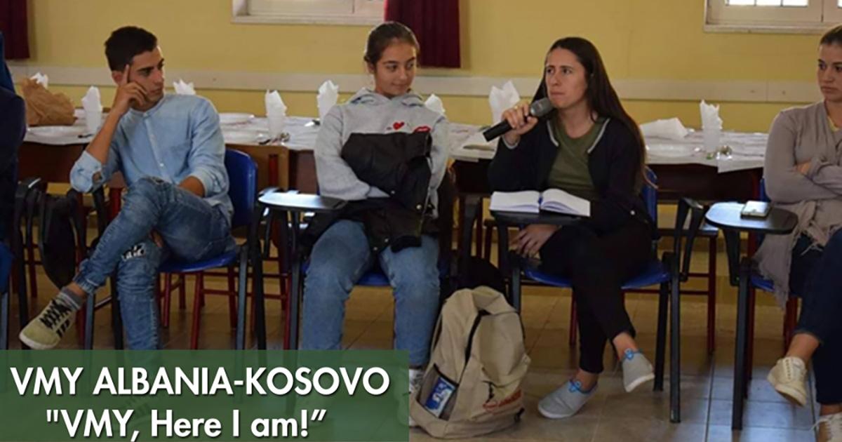 """JMV Albania-Kosovo continúa respondiendo: """"JMV, ¡aquí estoy!"""""""