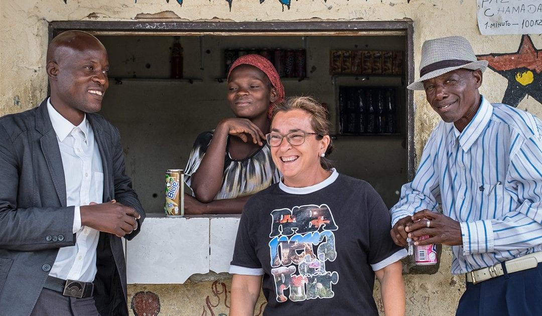 Entrevista con Guillermina Manchado, misionera de MISEVI en Angola