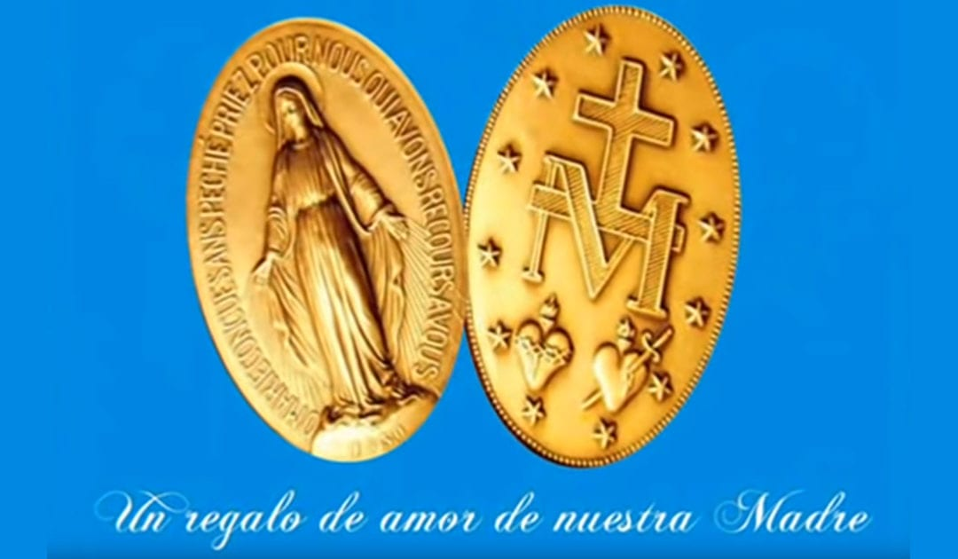 La Medalla Milagrosa, un regalo de nuestra Madre María [Video]