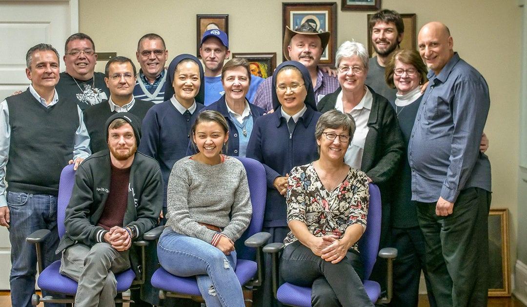 Reunión del Grupo de Trabajo de la Familia Vicenciana, en torno a la Cultura de Vocaciones