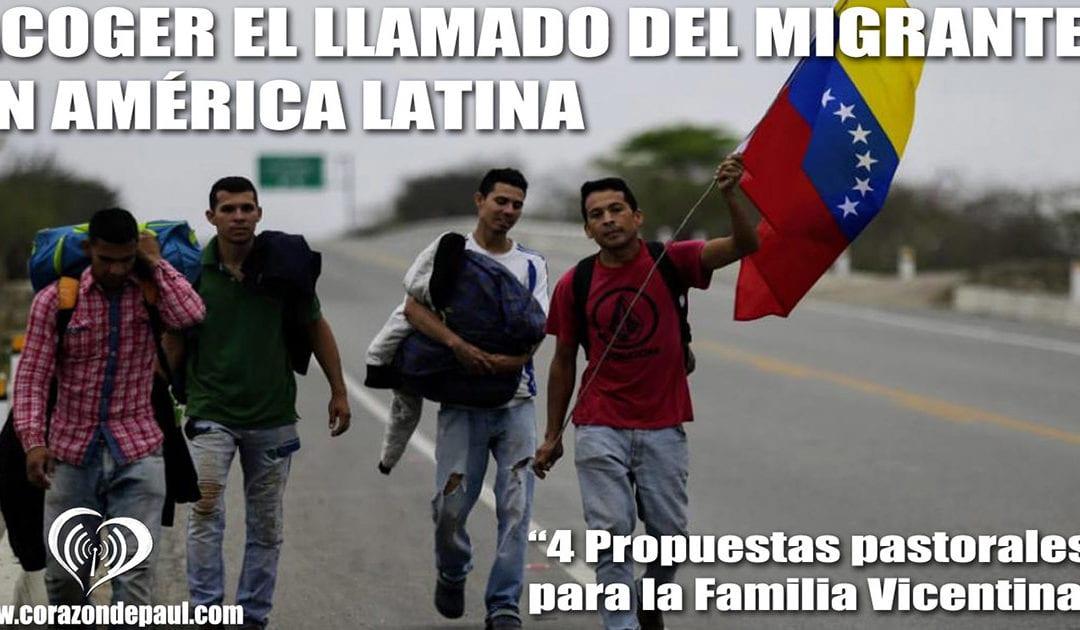 Acoger el llamado del migrante en América Latina