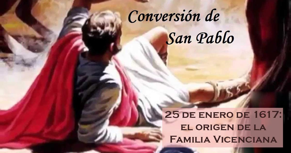 Felicidades… a TODOS los miembros de la Familia Vicenciana