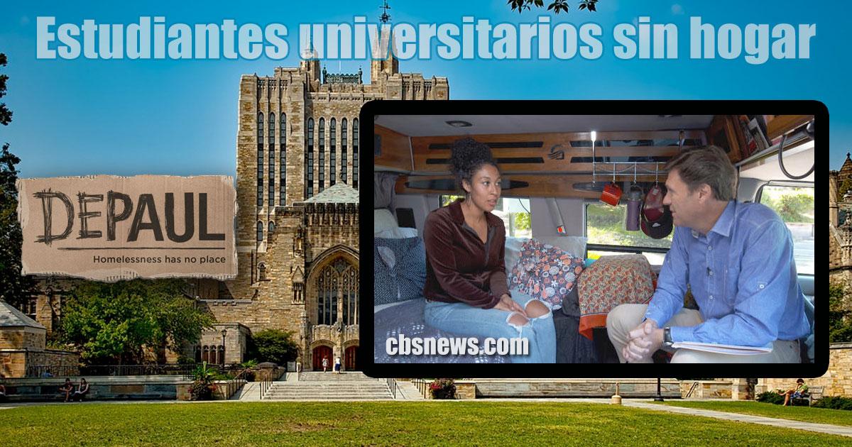 Programa de Depaul (USA) para estudiantes universitarios sin hogar
