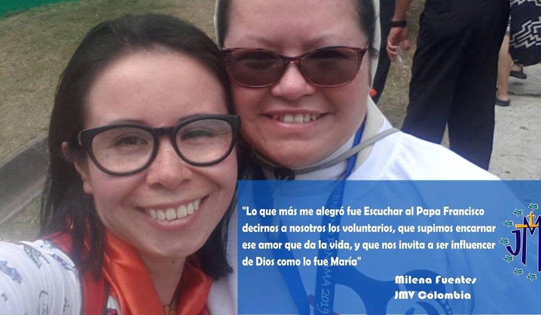Testimonio sobre la JMJ Panamá: Milena Fuentes