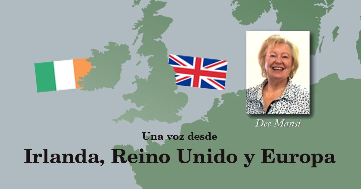 Una voz desde Irlanda, Reino Unido y Europa: ¡Dios no tiene país!