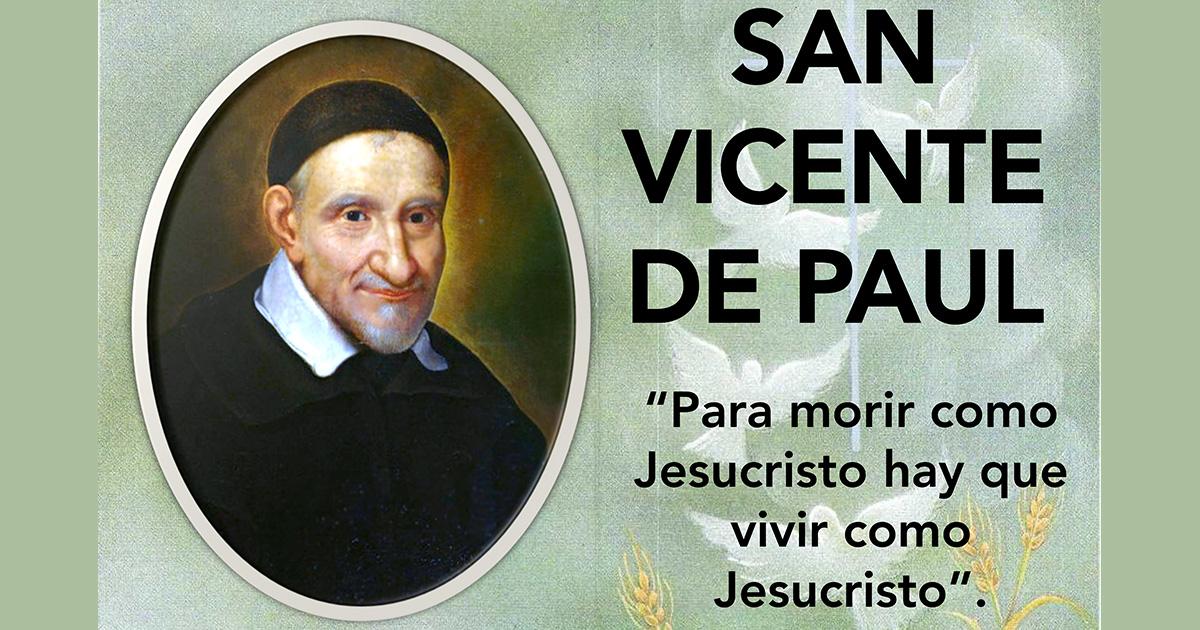 ¿Quién es san Vicente de Paúl?