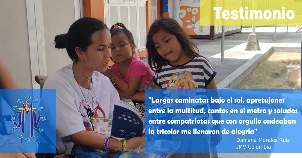 Testimonio sobre la JMJ Panamá: Dahiana Morales Ruiz