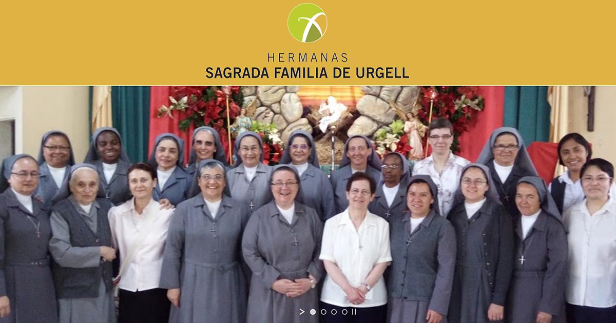 Conoce a las Hermanas de la Sagrada Familia de Urgell