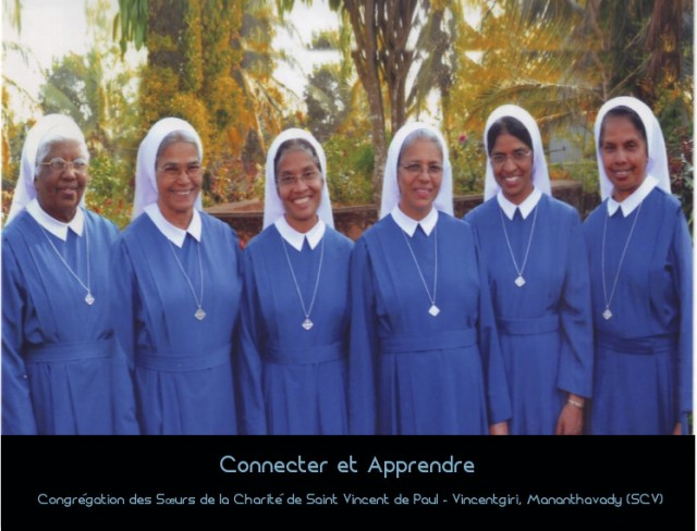 Connecter et Apprendre: Congrégation des Sœurs de la Charité de Saint Vincent de Paul – Vincentgiri, Mananthavady (SCV)