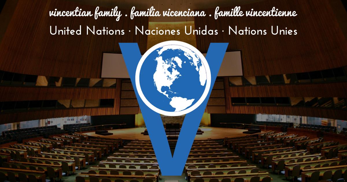 Collaboration de la Famille Vicentienne auprès de Nations Unies et Genève