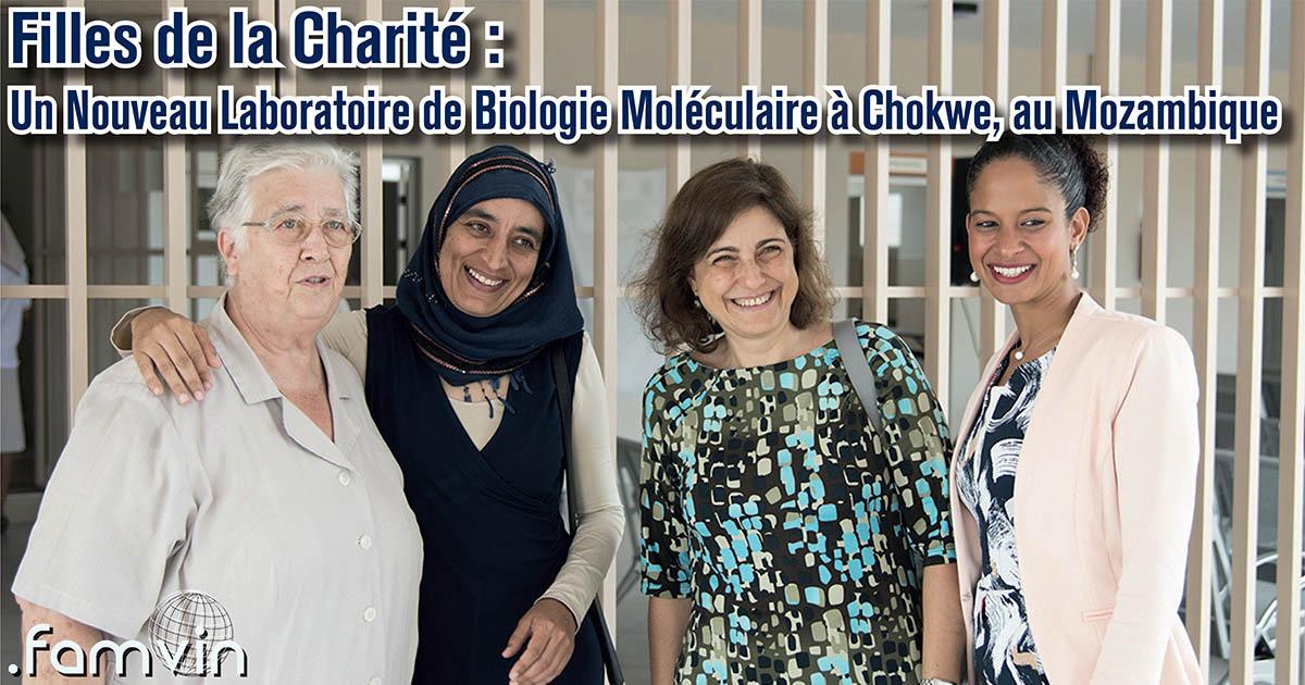 Un Nouveau Laboratoire de Biologie Moléculaire à Chokwe, au Mozambique