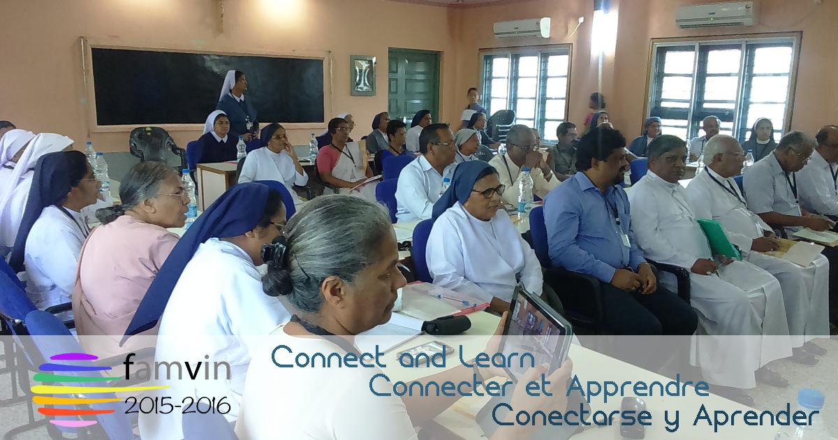 La Famille Vincentienne en Inde : Connecter et Apprendre!