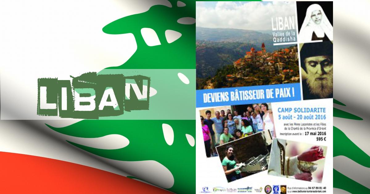 Camp-Mission/solidarité au LIBAN…