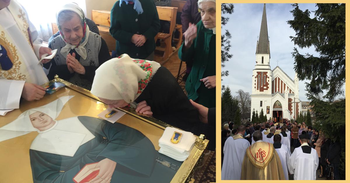Pèlerinage des reliques de la Bienheureuse Marta Wiecka, FDLC