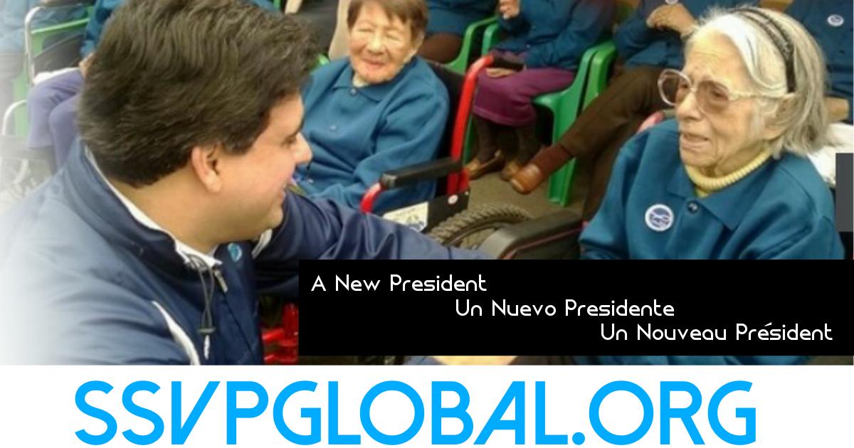 Nouveau Président pour la SSVP