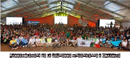 Rassemblement de la Jeunesse Vincentienne a Cracovie