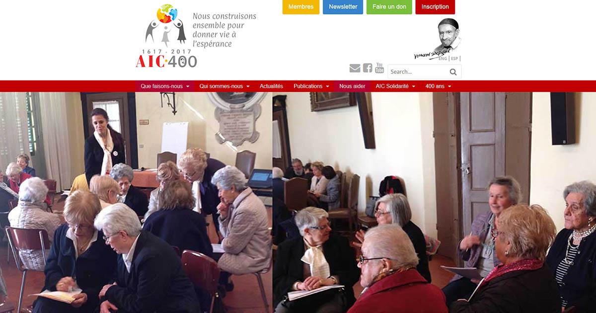 AIC International renouvelle son site web