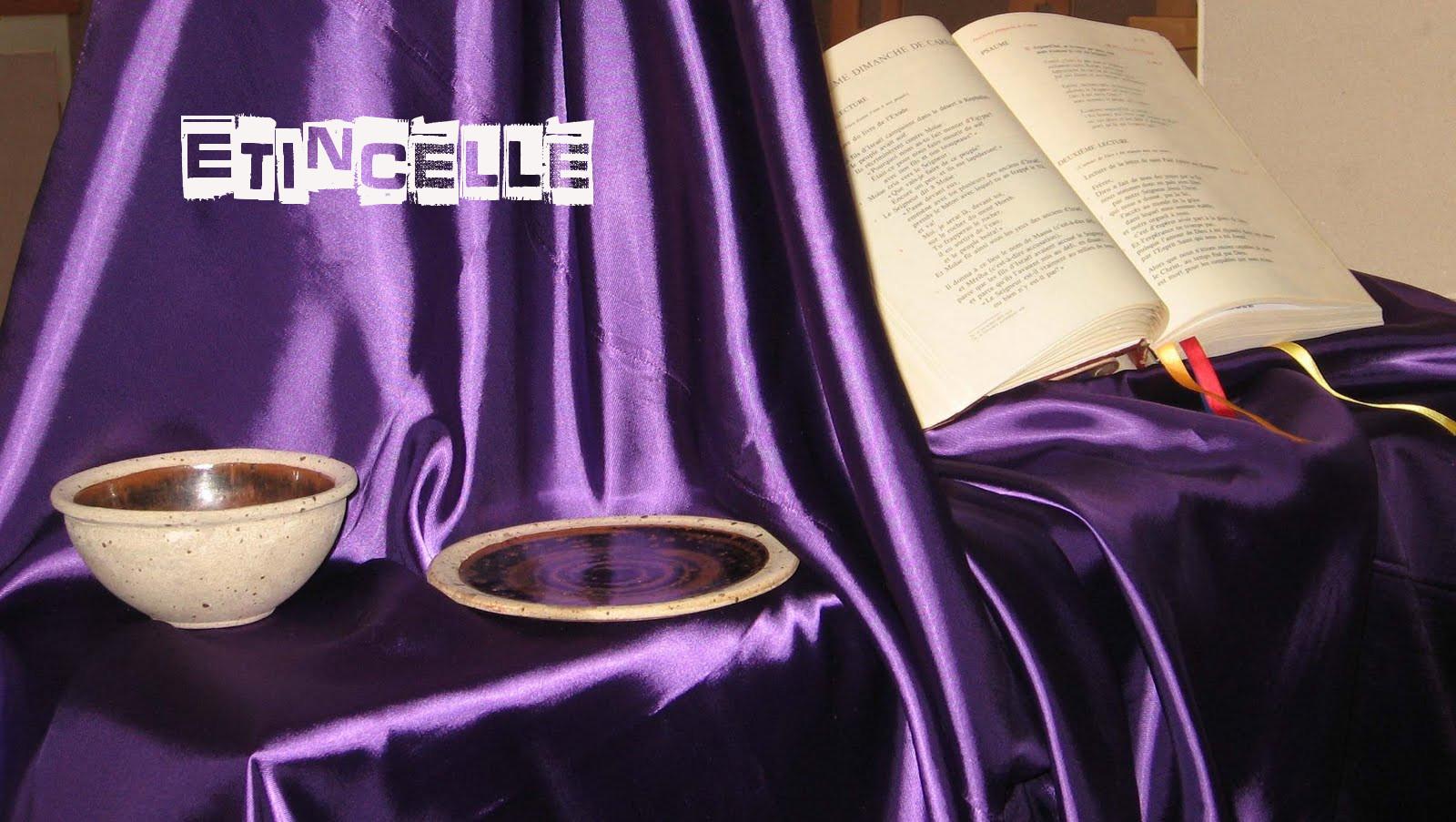 Parole de Dieu dans des vases vincentiens «3ème Dimanche de Carême»
