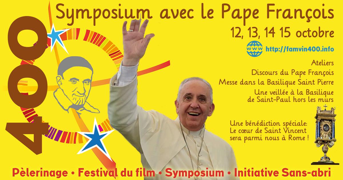 Ecoles secondaires vincentiennes: Venez au symposium Symposium! #famvin400