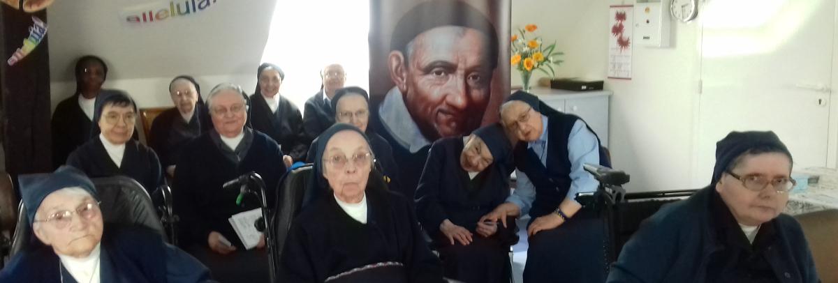 Relique du cœur de St Vincent dans la Communauté «St Joseph» (Sœurs aînées) de la Maison-Mère