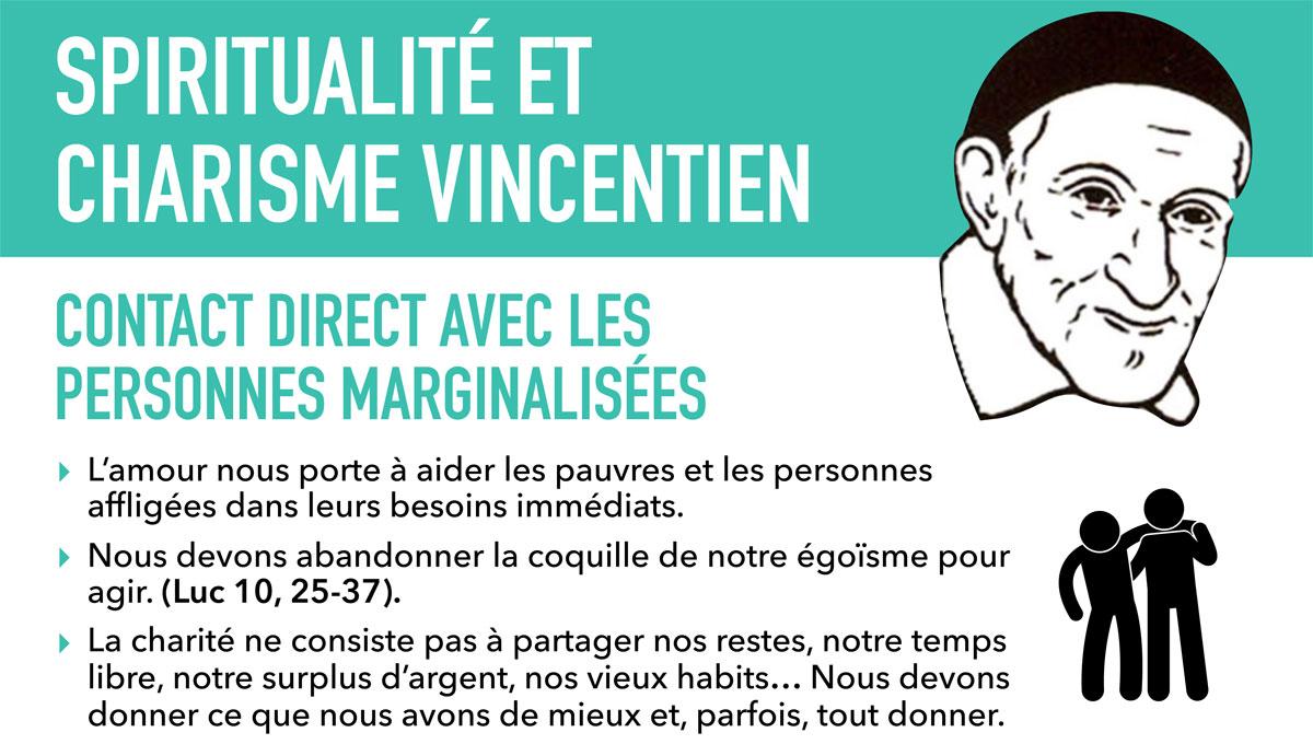 Charisme Vincentien : infographique