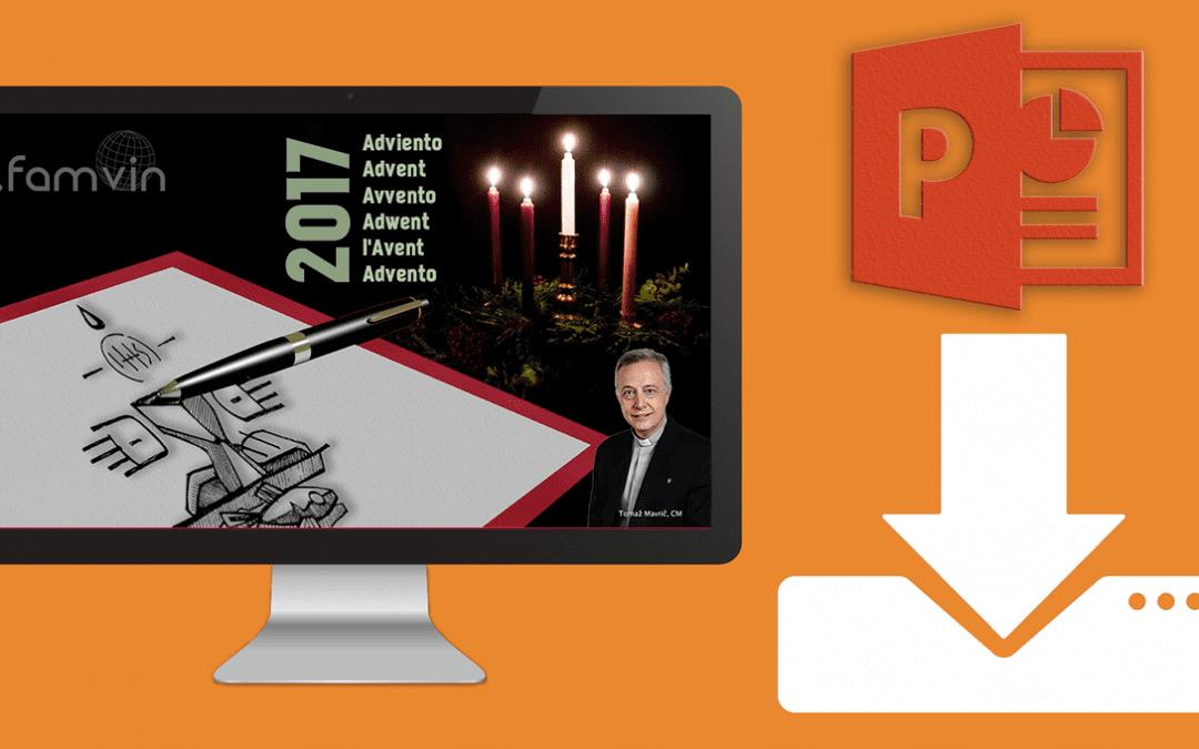 Power Point sur la lettre de l'Avent du Père Tomaž Mavrič, CM