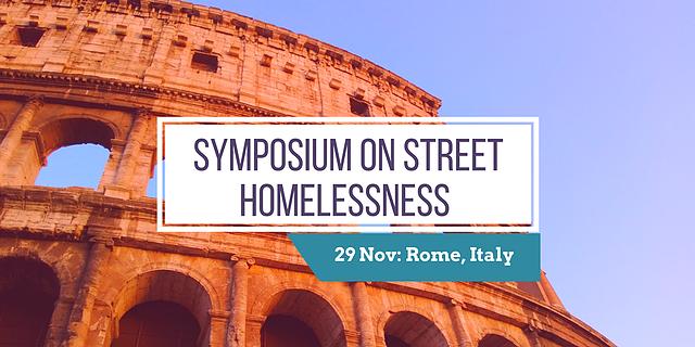 Symposium sur l'absence de logement et la doctrine sociale catholique à Rome, Italie