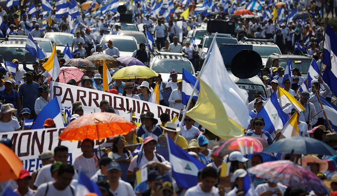 Le Conseil Général International de la SSVP réclame le dialogue national et la pacification urgente au Nicaragua