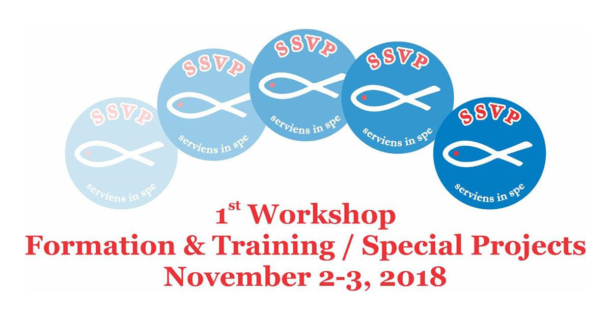 Le Conseil Général de la SSVP organise à Madrid des ateliers sur des Projets Spéciaux et Formation