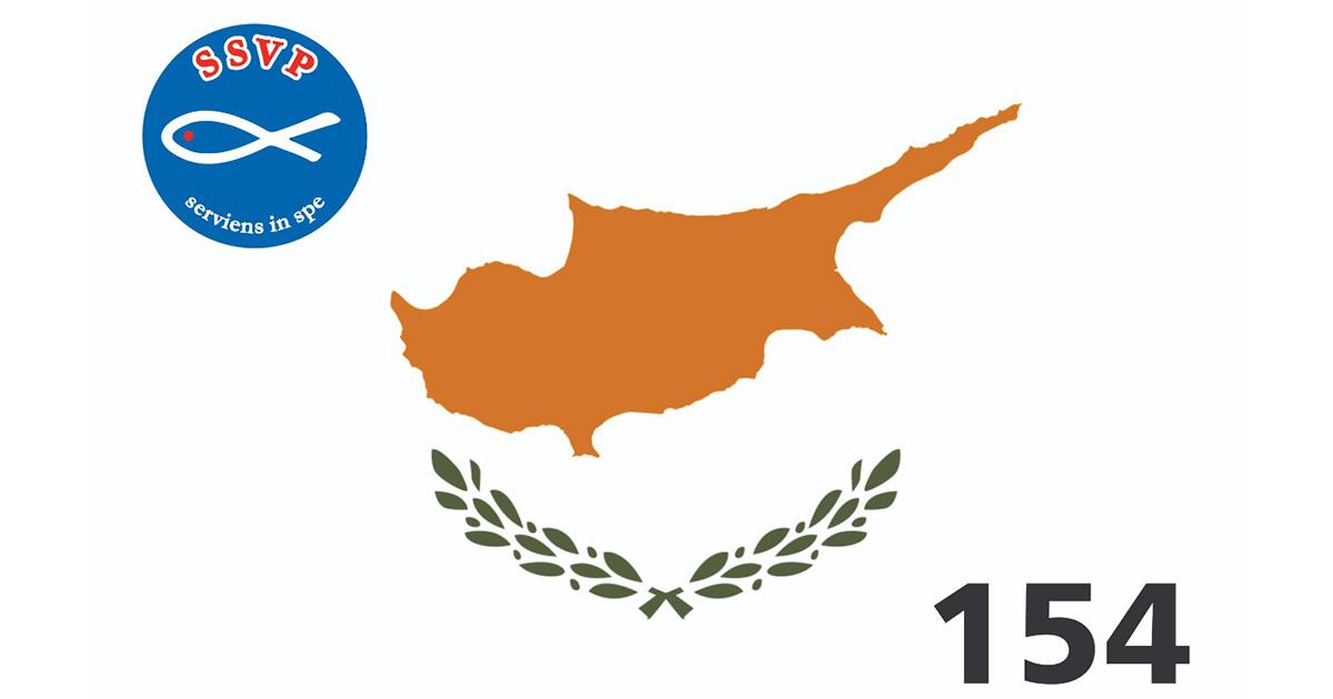 SSVP en expansion : Chypre est le 154ème territoire qui se joint à notre grand réseau caritatif