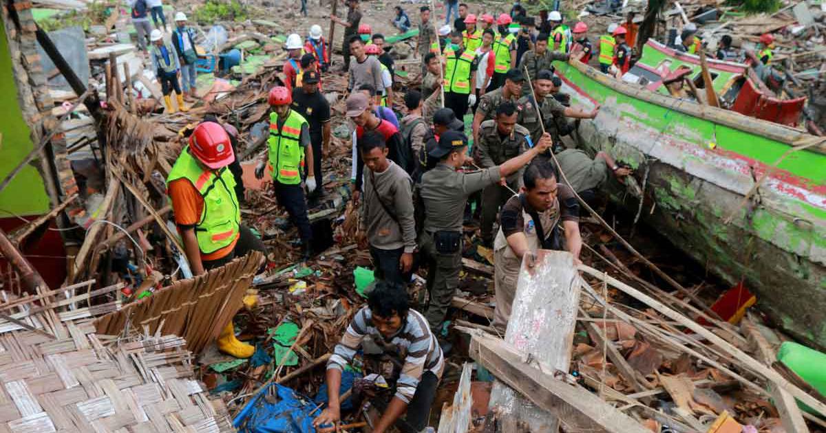 La Famille Vincentienne prie pour les victimes en Indonésie