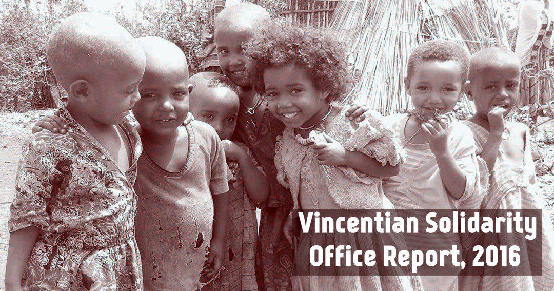 Annuale rapporto dell'Ufficio di Solidarietà Vincenziana – 2016