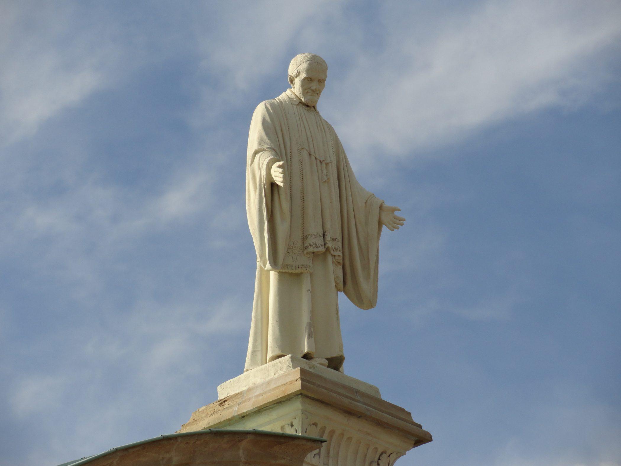 San Vincenzo de' Paoli e le virtù: la Carità