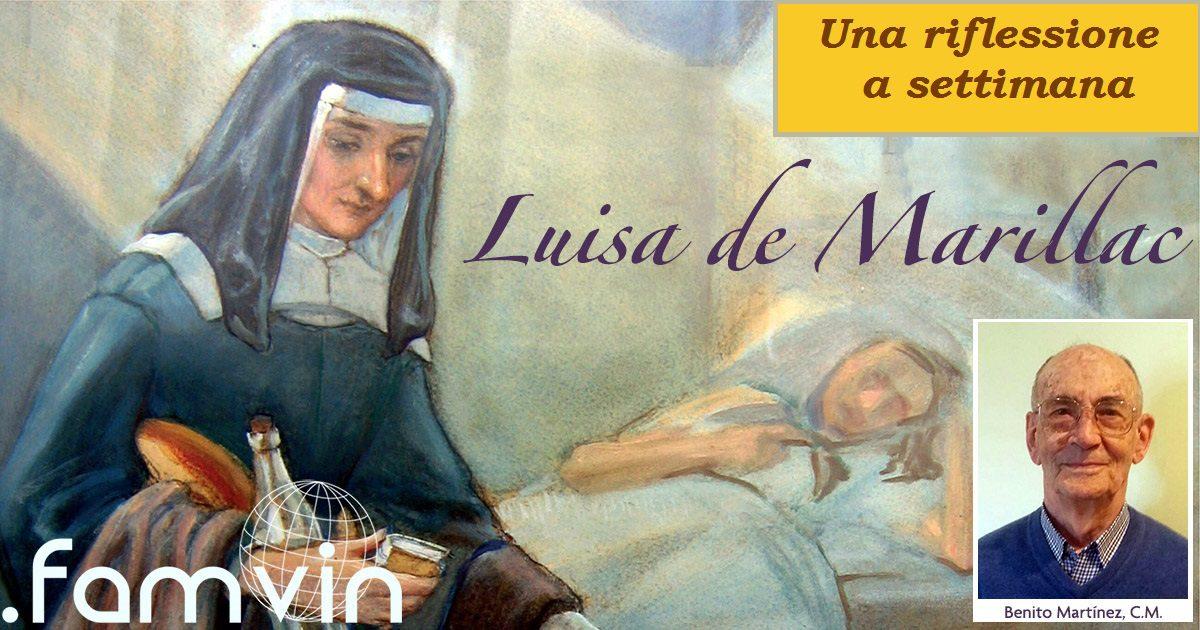 Organizzando il nostro servizio – una riflessione settimanale con S. Luisa
