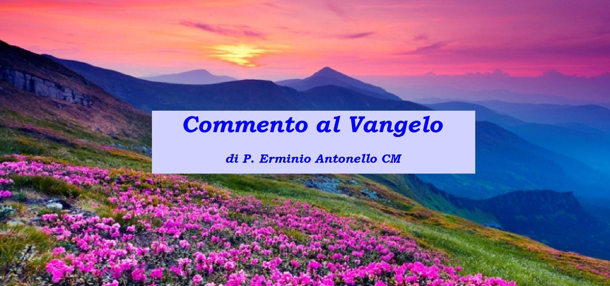 Commento al Vangelo della XXXIII domenica del tempo ordinario (Anno A) – di P. Erminio Antonello