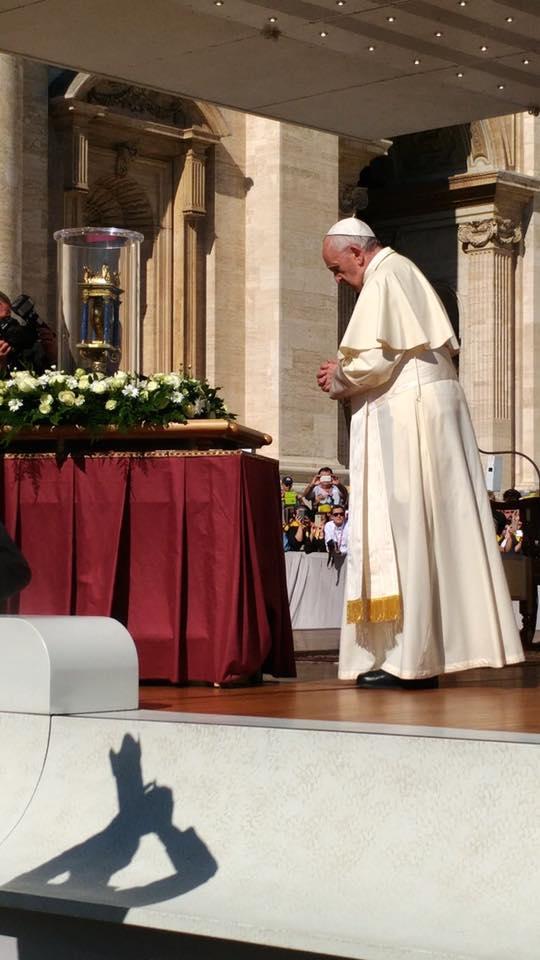 Il papa alla Famiglia Vincenziana: adorare, accogliere e andare!