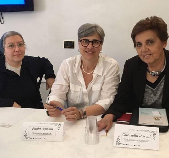 Gabriella Raschi nuova presidente nazionale dei Gruppi di Volontariato Vincenziano AIC Italia