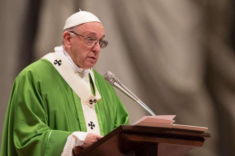 Papa Francesco: l'omissione è il grande peccato nei confronti dei poveri