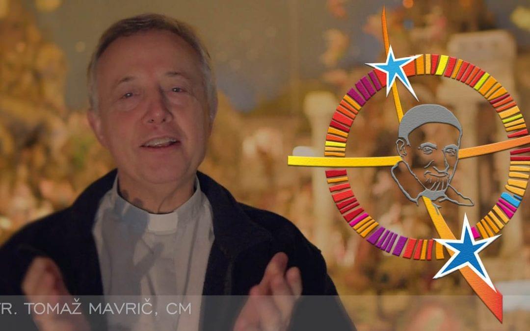 Auguri di Natale di padre Tomaž Mavrič, CM alla Famiglia Vincenziana