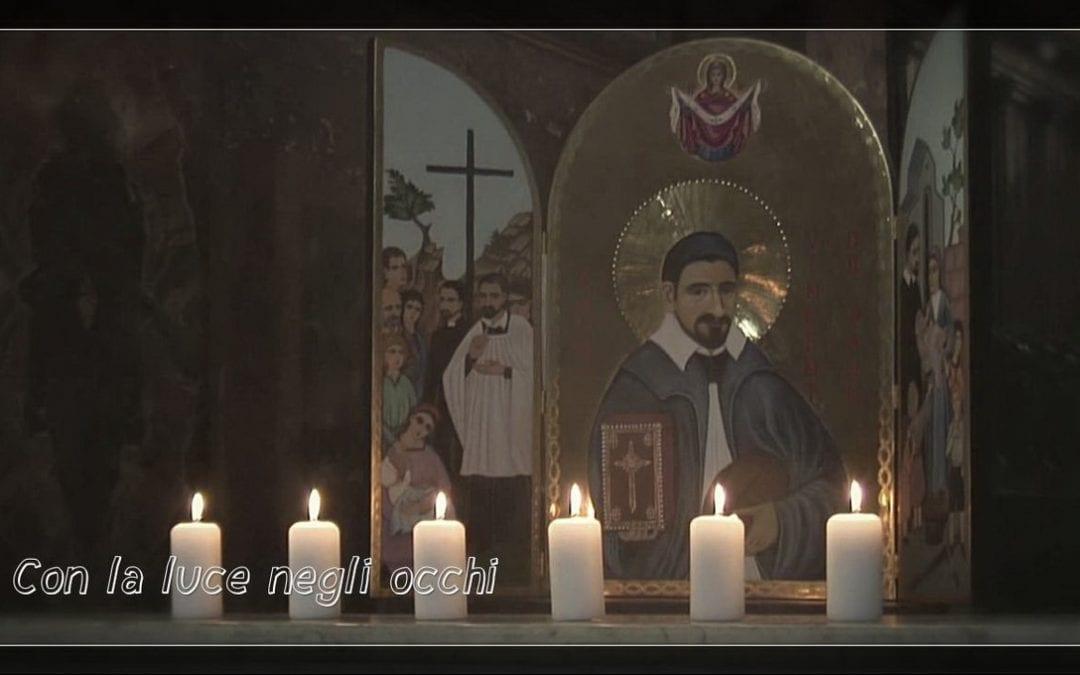 Icona della carità: con la luce negli occhi • Un video del P. Tomaz Mavrič