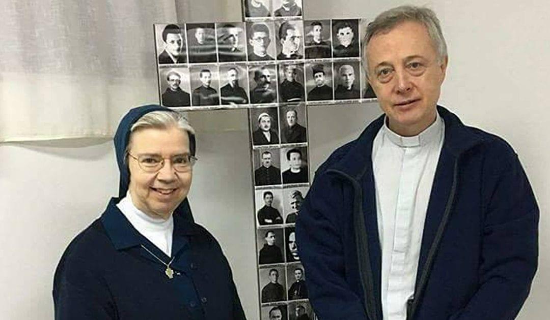 P. Tomaž  e Sr. Kathleen hanno visitato il Kosovo e l'Albania
