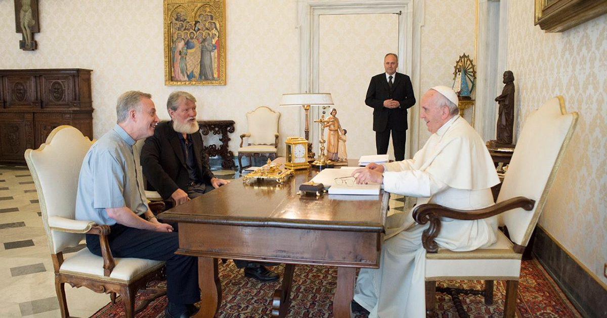 Udienza di Padre Pedro Opeka C.M. con Papa Francesco