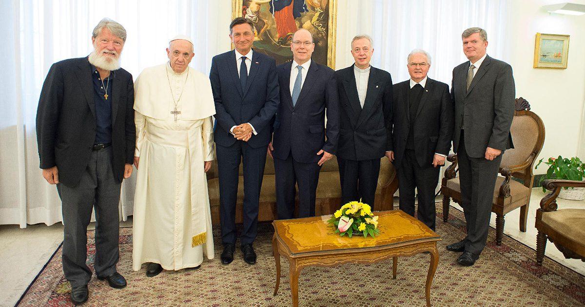 Papa Francesco riceve per la seconda volta P. Pedro Opeka
