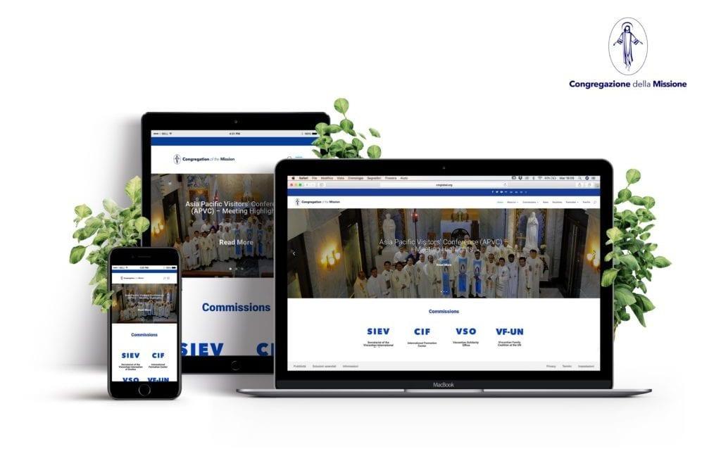 Presentazione del nuovo sito web della Congregazione della Missione