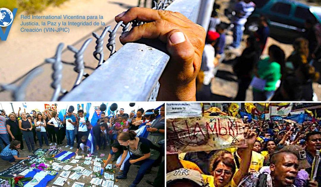 Solidarietà al Nicaragua, al Venezuela ed ai Migranti negli Stati Uniti