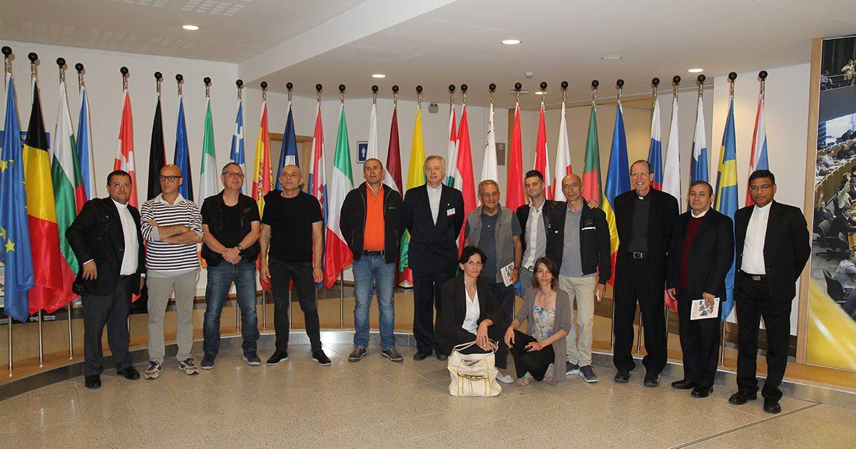 L'evento della Famiglia Vincenziana al Parlamento Europeo