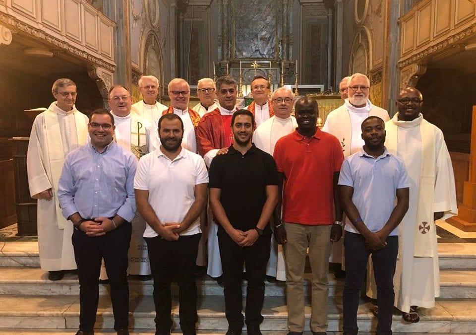 Cinque giovani al Seminario Interno Vincenziano