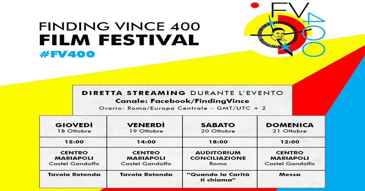 """Finding Vince 400"" sarà trasmesso in streaming su Facebook"